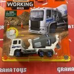 Cement King HD 8/16 2021 Matchbox Working Rigs Mix K