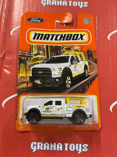 15 Ford F-150 Contractor Truck #78 2021 Matchbox Case T