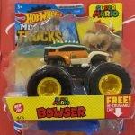 Bowser Super Mario 16/75 2021 Hot Wheels Monster Trucks Case D