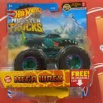 Mega Wrex 68/75 7/7 MT Live2021 Hot Wheels Monster Trucks Case D