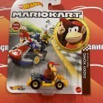 Diddy Kong Pipe Frame 2021 Hot Wheels Super Mario Kart Case L