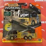 Pierce Velocity Aerial Platform Fire Truck 7/16 2021 Matchbox Working Rigs Mix K