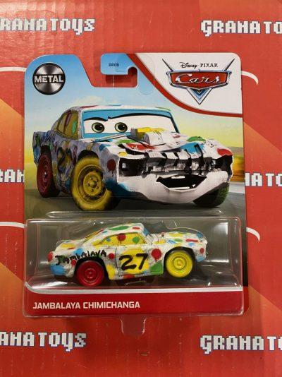 Jambalaya Chimichanga 2021 Disney Pixar Cars Mattel Mix D