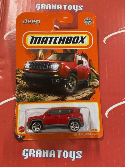 2019 Jeep Renegade #26 2021 Matchbox Case T
