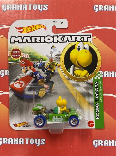 Koopa Troopa Circuit Special 2021 Hot Wheels Super Mario Kart Case L