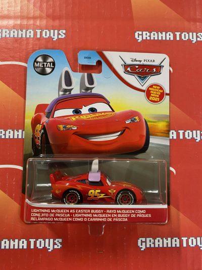 Lightning McQueen As Easter Buggy 2021 Disney Pixar Cars Mattel Mix D