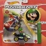 Luigi Standard Kart 2021 Hot Wheels Super Mario Kart Case L