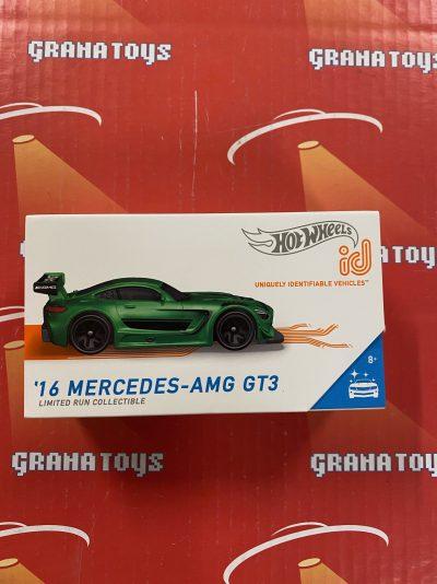 16 Mercedes-AMG GT3 2021 Hot Wheels ID Cars Case B