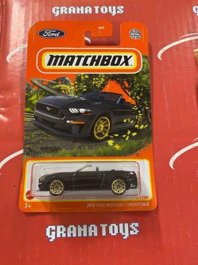 2018 Ford Mustang Convertible #87 2021 Matchbox Case T
