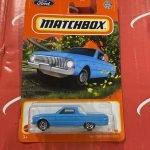 1961 Ford Ranchero #96 2021 Matchbox Case T