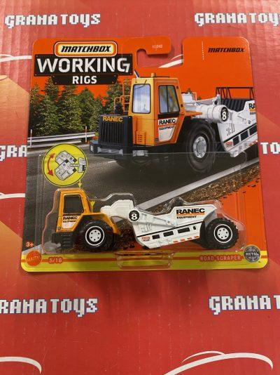 Road Scraper 5/16 2021 Matchbox Working Rigs Mix K