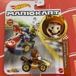 Tanooki Mario Standard Kart 2021 Hot Wheels Super Mario Kart Case L