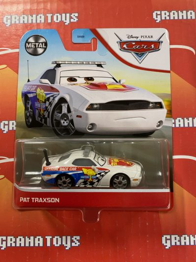 Pat Traxson 2021 Disney Pixar Cars Mattel Mix D
