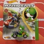 Yoshi Pipe Frame 2021 Hot Wheels Super Mario Kart Case L