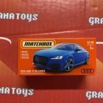 2020 Audi TT RS Coupe #16 2021 Matchbox Power Grabs Case T