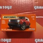 2019 Jeep Renegade #26 2021 Matchbox Power Grabs Case T