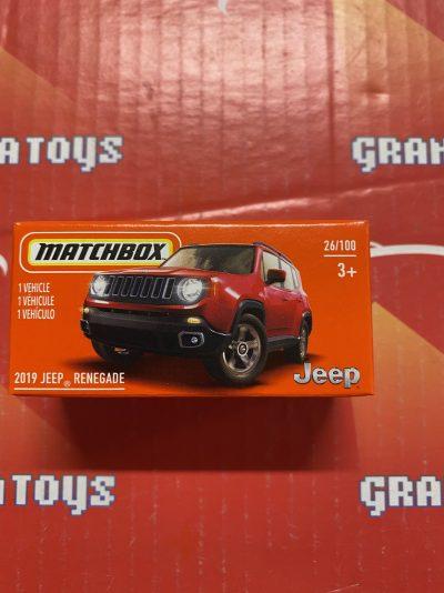 2019 Jeep Renegade #26 2021 Matchbox Power Grabs Case T
