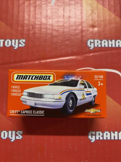 Chevy Caprice Classic #32 2021 Matchbox Power Grabs Case T