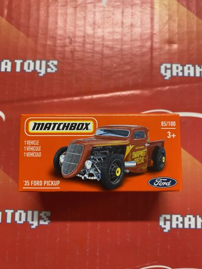 35 Ford Pickup #85 2021 Matchbox Power Grabs Case T