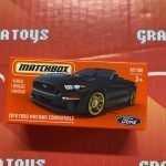 2018 Ford Mustang Convertible #87 2021 Matchbox Power Grabs Case T