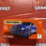 Bentley Bentayga #9 2021 Matchbox Power Grabs Case T