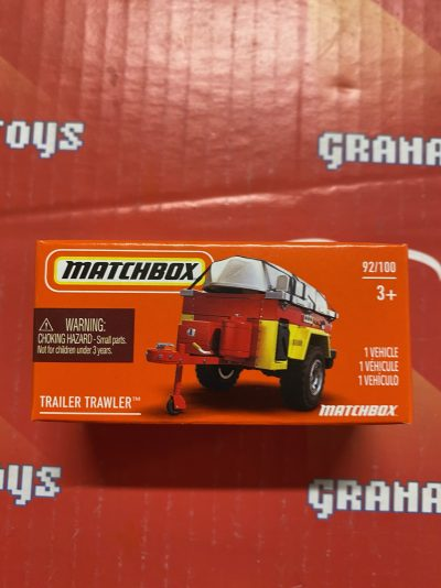 Trailer Trawler #92 2021 Matchbox Power Grabs Case T
