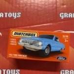 1961 Ford Ranchero #96 2021 Matchbox Power Grabs Case T