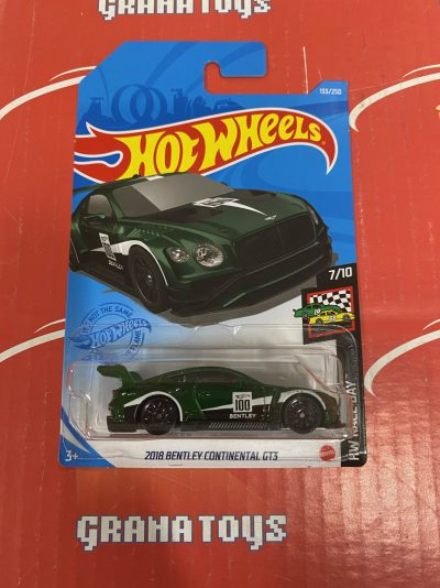 2018 Bentley Continental GT3 #133 7/10 Race Day 2021 Hot Wheels Case F