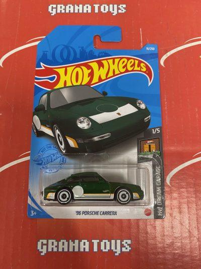 96 Porsche Carrera #16 1/5 Dream Garage 2021 Hot Wheels Case F