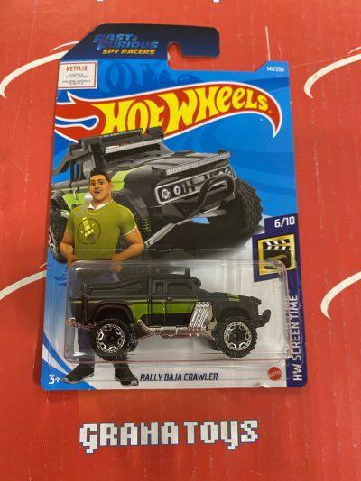 Rally Baja Crawler #141 Screen Time 6/10 2021 Hot Wheels Case G