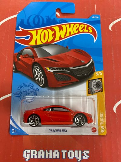 17 Acura NSX #148 Turbo 5/5 2021 Hot Wheels Case G