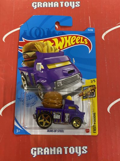 Buns Of Steel #15 Fast Foodie 1/5 2021 Hot Wheels Case G