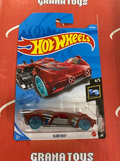Slide Kick #153 X-Raycers 4/5 2021 Hot Wheels Case G