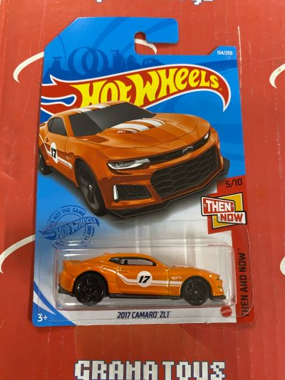 2017 Camaro ZL1 #154 Then and Now 5/10 2021 Hot Wheels Case G