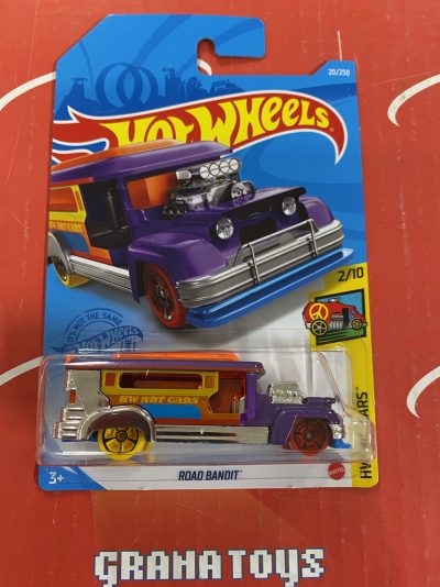 Road Bandit #20 Art Cars 2/10 2021 Hot Wheels Case G