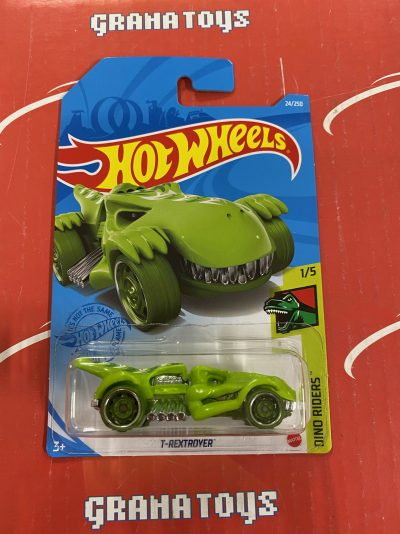 T-Rextroyer #24 Dino Riders 1/5 2021 Hot Wheels Case G