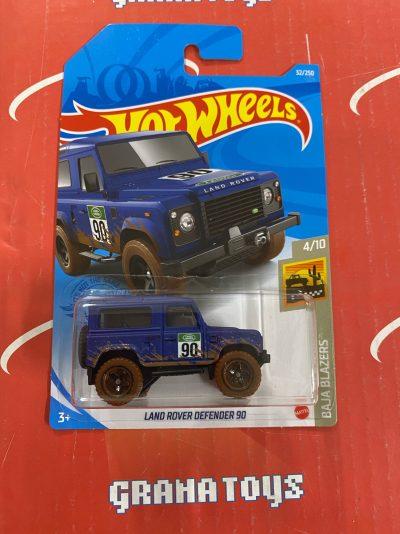 Land Rover Defender 90 #32 Baja Blazers 4/10 2021 Hot Wheels Case G