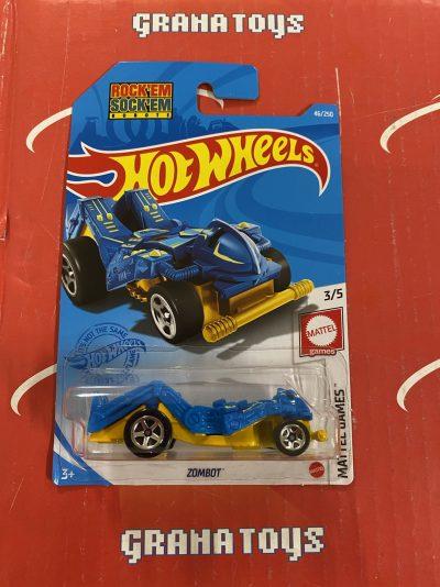 Zombot #46 Mattel Games 3/5 2021 Hot Wheels Case G