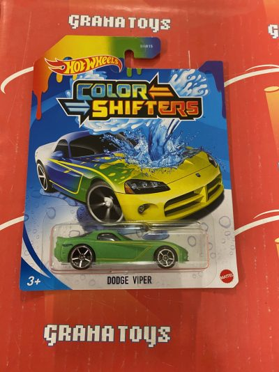 Dodge Viper 2021 Hot Wheels Color Shifters Mix J