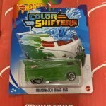 Volkswagen Drag Bus 2021 Hot Wheels Color Shifters Mix J
