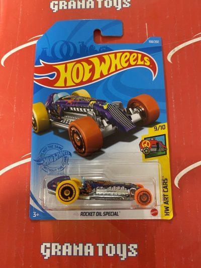 Rocket Oil Special #158 9/10 Art Cars 2021 Hot Wheels Case H
