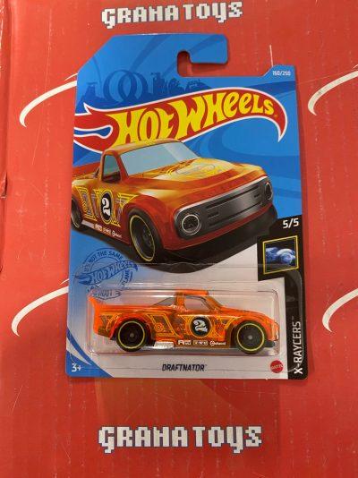 Draftnator #160 5/5 X-Raycers 2021 Hot Wheels Case H