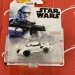 Stormtrooper 2021 Hot Wheels Star Wars Studio Character Cars