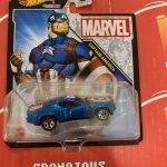 Captain America 2021 Hot Wheels Marvel Studio Character Cars Mix J