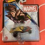 Gambit 2021 Hot Wheels Marvel Studio Character Cars Mix J