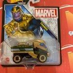 Thanos 2021 Hot Wheels Marvel Studio Character Cars Mix J