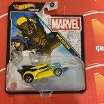 Wolverine 2021 Hot Wheels Marvel Studio Character Cars Mix J