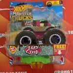 1 Bad Scoop 42/75 3/6 Fast Foodie 2021 Hot Wheels Monster Trucks Case F