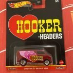 Custom '77 Dodge Van Hooker Headers 2021 Hot Wheels Pop Culture Speed Shop Case K