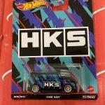 MBK Van HKS 2021 Hot Wheels Pop Culture Speed Shop Case K